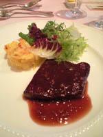 宮崎牛のステーキ
